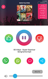 Mana Radio App Screens